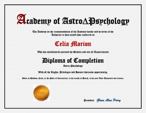 Diploma in AstroPsychology